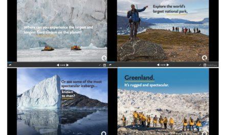 Explore Greenland: SlideShare & Webinar