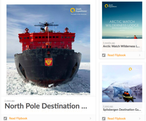 Quark Expeditions – Content Strategy & Creation, SEO