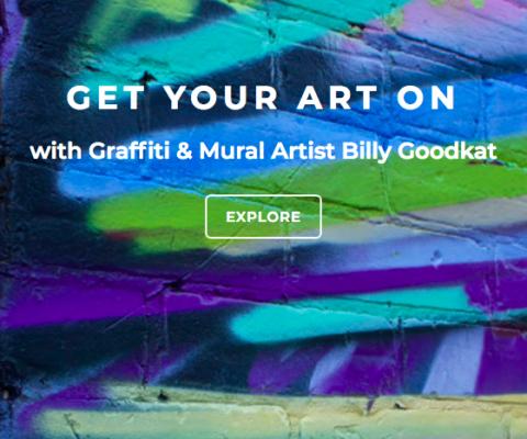 Artist Billy Goodkat – Web Design & Content Support