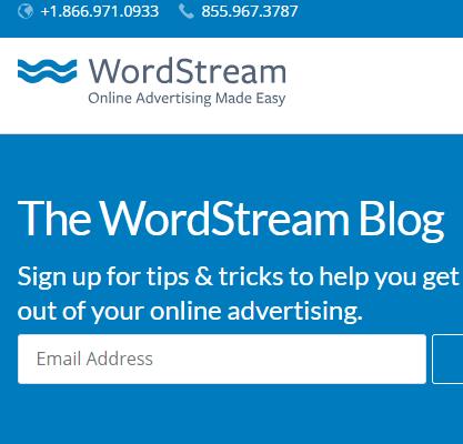 WordStream Inc. – Content Support